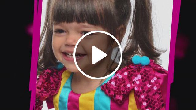 Rainha Mirim Lalela Vargas - Video & GIFs | body m, baby girl names, marketing digital, cute outfits, prom dresses, clothes, instagram, girl names, kid outfits