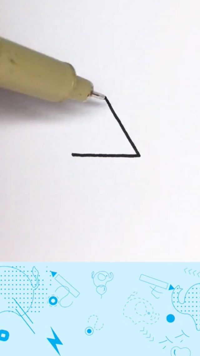 Impossible triangle math for students