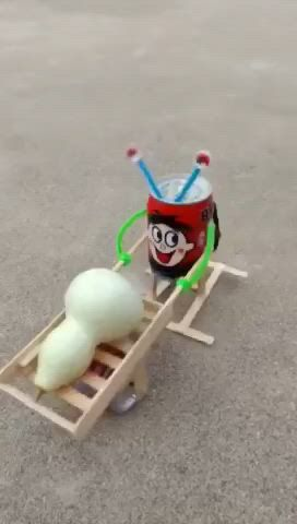 Self made engineering toy for kids - Video & GIFs | engineering toys,science experiments kids,crafts for kids