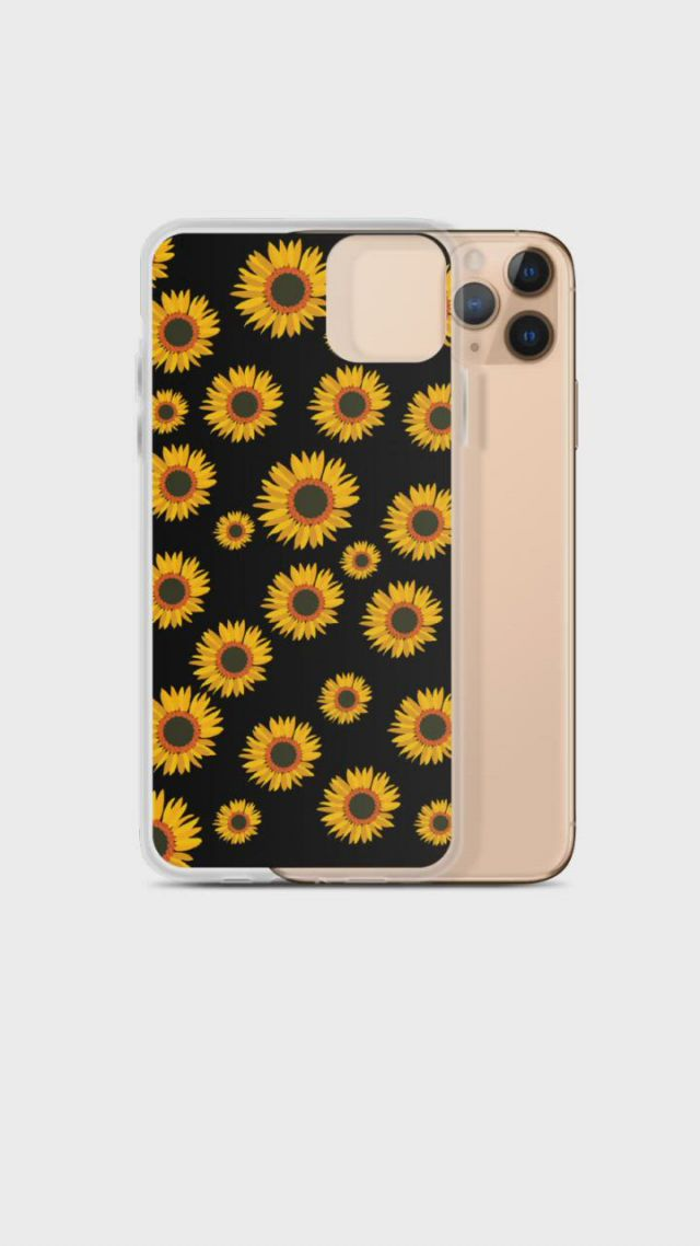 Yellow Sunflower iPhone Case For Girl