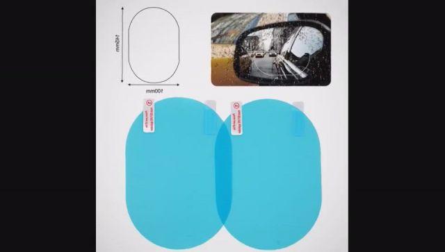 Car Rearview Mirror Protective Anti Fog Film