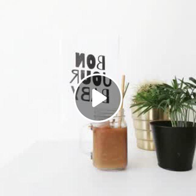 Summer Love Cold Brew - Video & GIFs   diy tisch, zimmerpflanzen dekor, deko, house plants decor, plant decor, diy blog, coffee love, cold brew, summer of love, brewing, inspiration