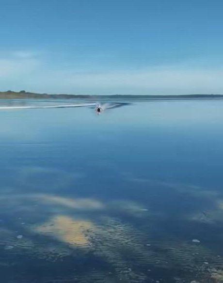 Boatless water skiing - Video & GIFs | water skiing,water crafts,skiing ,water me,canoes,tall ships,cruises,boating,skiing,fishing,backyard