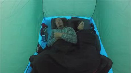 Waking up to what - Video & GIFs | survival,camping survival,survival skills,primitive survival,game guide,hiking,camping outdoors,adventure,money,woman