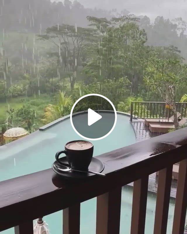 Rainy Days In Ubud, Bali, Indonesia - Video & GIFs   beautiful places nature, ubud, beautiful nature scenes, beautiful landscapes, beautiful world, beautiful places to travel, cool places to visit, bisous gif