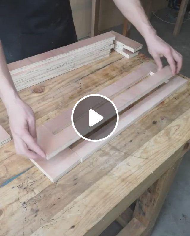 Homemade Carved Frame - Video & GIFs   werkstatteinrichtung, projekte, selber bauen