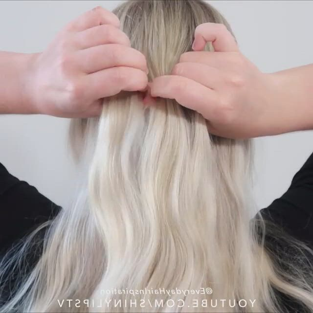 Cute french plait tutorial