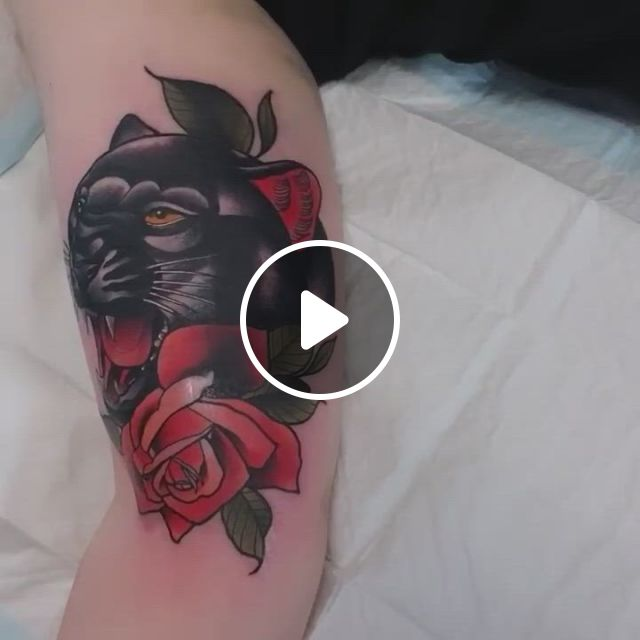 Neo Traditional Tattoo In Arm - Video & GIFs | tattoo artists, australian tattoo, neo traditional tattoo