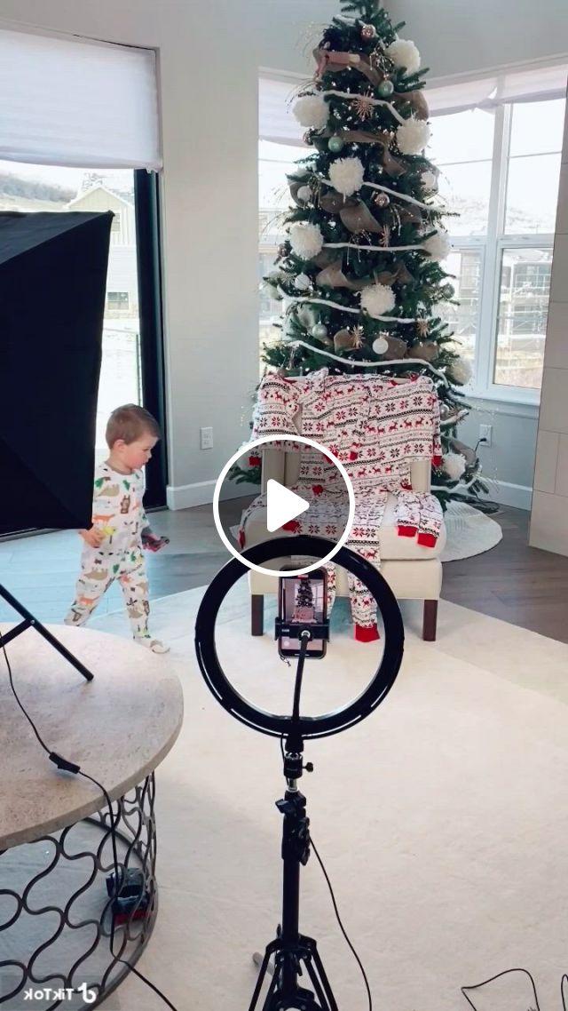 Christmas Pajamas Tutorial - Video & GIFs   diy, christmas, holiday decor, christmas pajamas, christmas tree, caravan, more fun, toddlers, about me blog, tutorials,