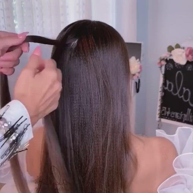 Amazing long hair upstyles