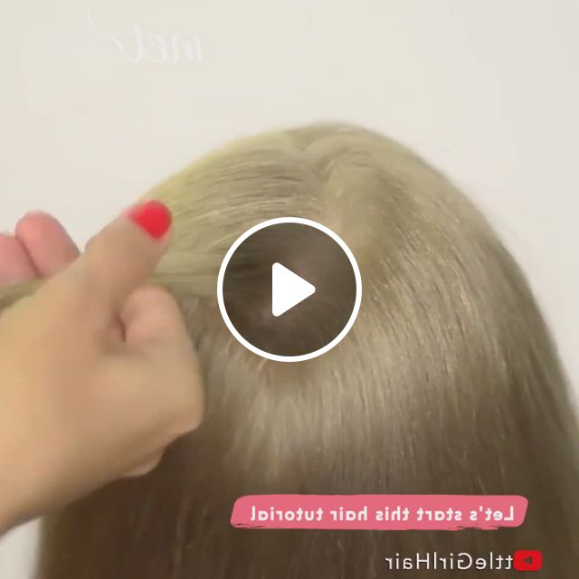 Braided Hairstyles - Video & GIFs | hair styles, braided hairstyles, gents hair style, little girl hairstyles, cute hairstyles, female hairstyles, style hairstyle, hairstyles 2018, medium hair styles, curly hair styles