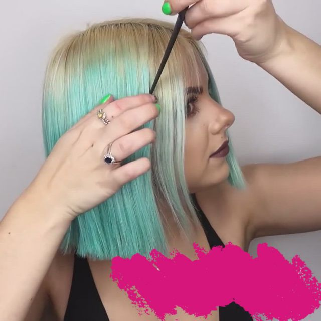 Neon green and purple hair - Video & GIFs   elegant short hair,hair styles,gents hair style,short hairstyles for thick hair,hairstyles over 50,boy hairstyles,easy hairstyle,style hairstyle,female hairstyles,hair style image man,hairstyles for seniors