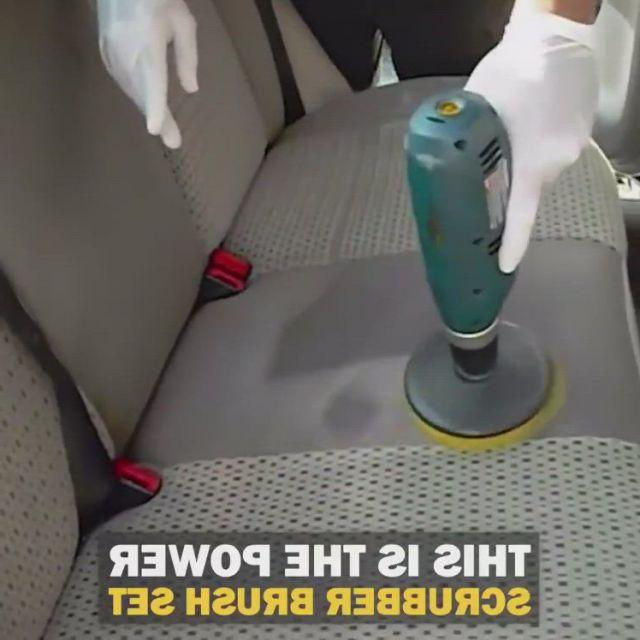 Drill Attachment Scrubber Brush 3pcs