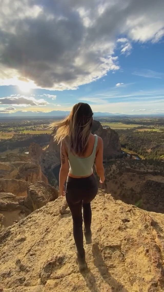 Would you hike up to this view point