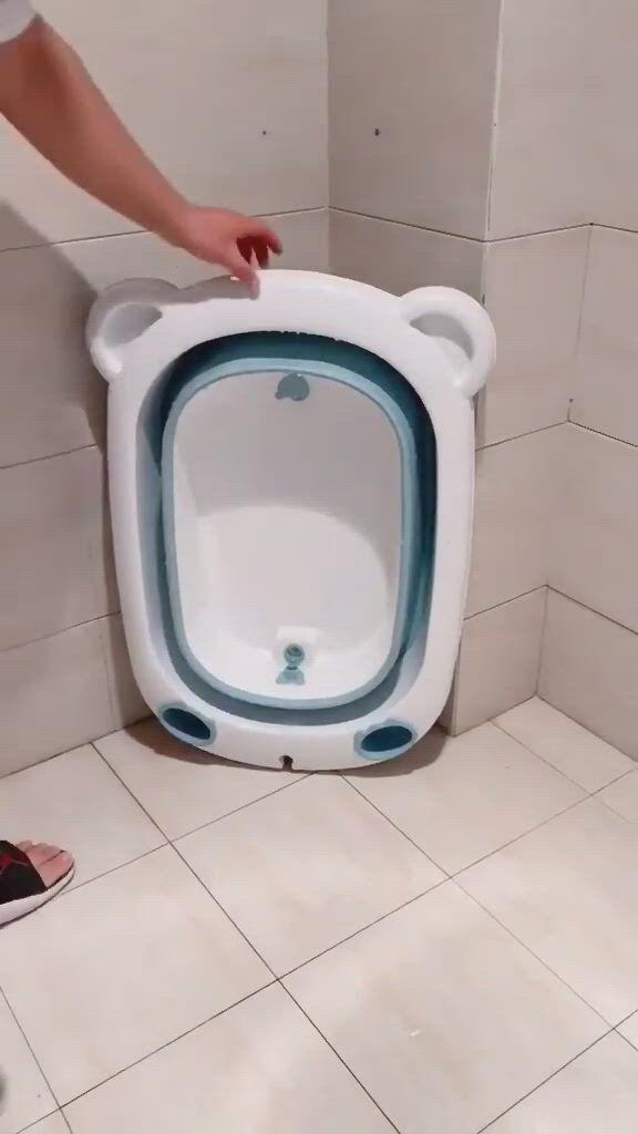 Baby inflatable bathtub, portable