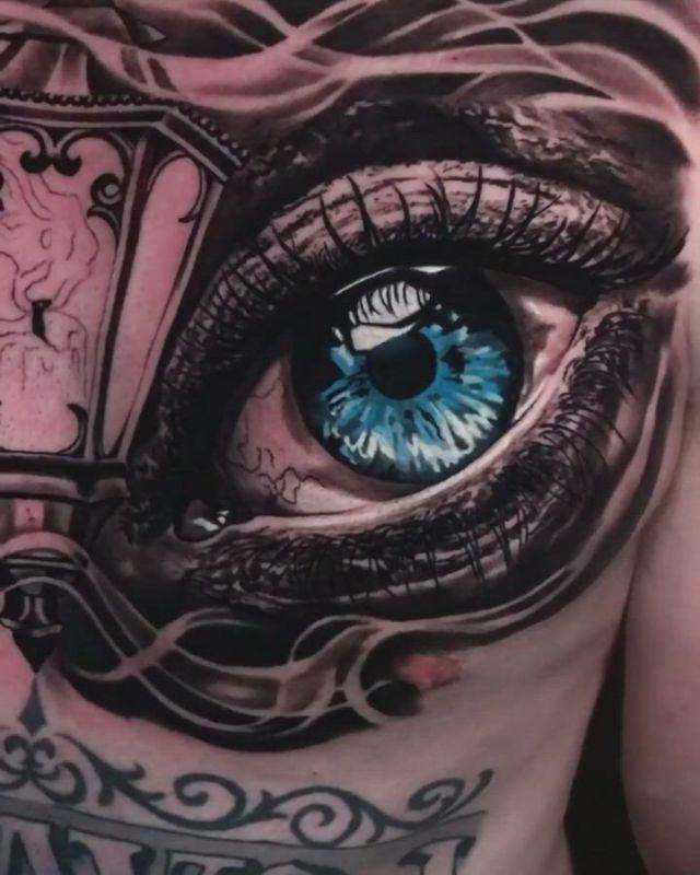 Chest tattoo - Video & GIFs   chest tattoo,australian tattoo,tattoo artists,tattoos gallery,western australia,tattoo studio,artist at work,blackwork