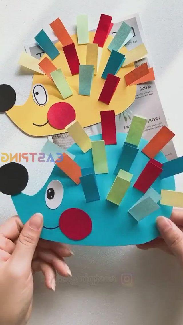 DIY Creative crafts easy origami paper tutorial - Video & GIFs | yeni yurumeye başlayan cocuk elişi,cadılar bayramı elişleri,eğitimsel elişleri,thanksgiving crafts for toddlers,halloween crafts for toddlers,animal crafts for kids,paper crafts for kids,craft activities for kids,toddler crafts,preschool crafts,paper crafting,fun crafts