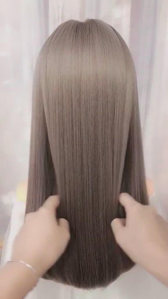 New Hairstyles Ideas - Video & GIFs | cute hairstyles,braided hairstyles,beautiful hairstyles,hairstyles,hairstyles for short hair easy,new hairstyle,party hairstyles for long hair,easy little girl hairstyles,ponytail hairstyles tutorial