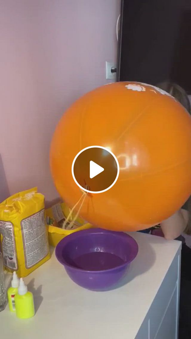 How To Make A Pinata - Video & GIFs   diy crafts for home decor, diy crafts hacks, diy crafts for gifts, diy arts and crafts, creative crafts, diy craft projects, paper crafts, paper mache pinata, paper mache balloon