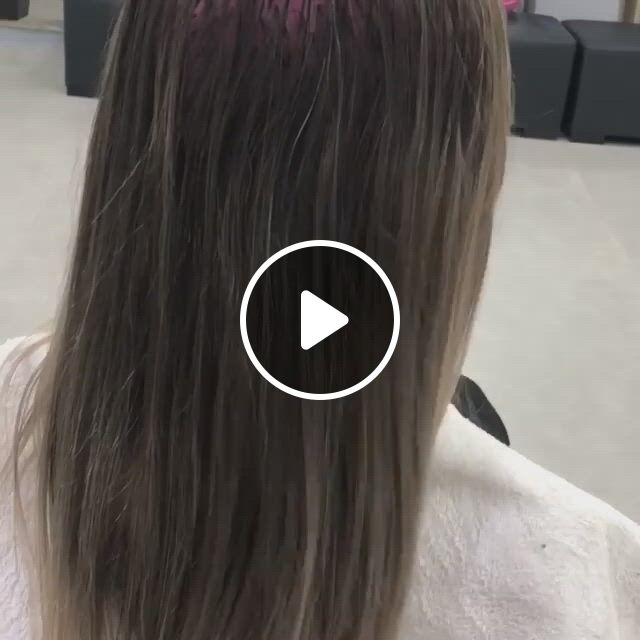 Platinum Hair Transformation - Video & GIFs   hair , beautiful hair, hair transformation, easy hairstyles, beautiful hairstyles, platinum hair, good job, eye makeup, hair beauty
