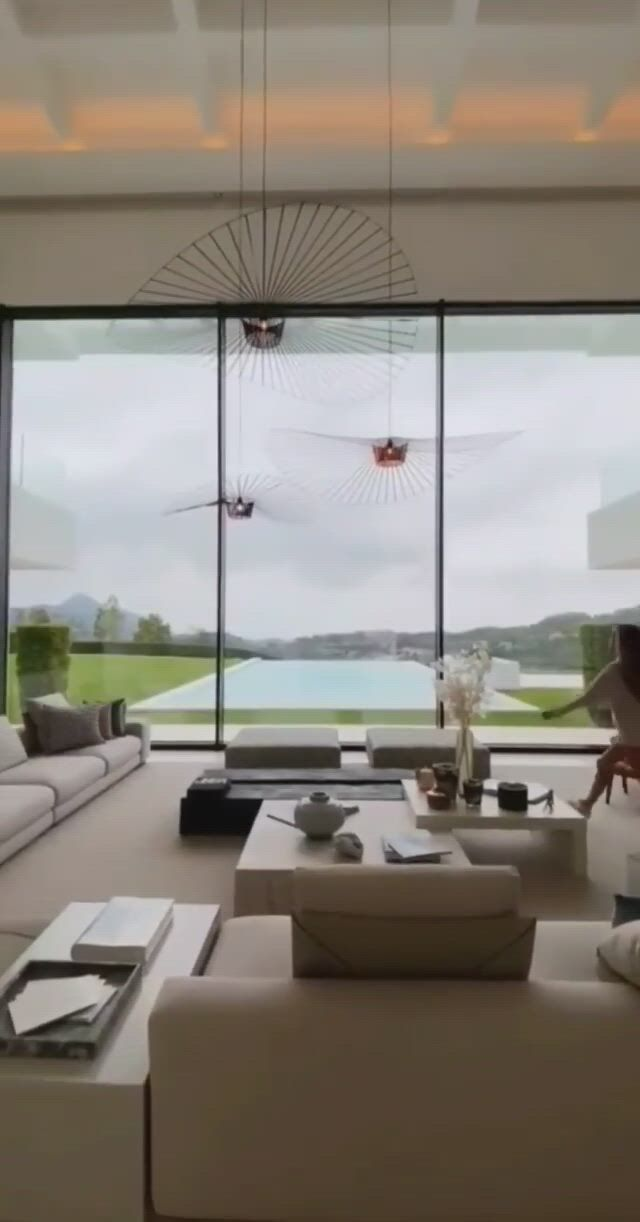 Living rooms with great views - Video & GIFs   luxury living room,luxury home decor,luxury living,luxury interior design,modern kitchen design,modern house design,building a house,law,buildings,furniture design