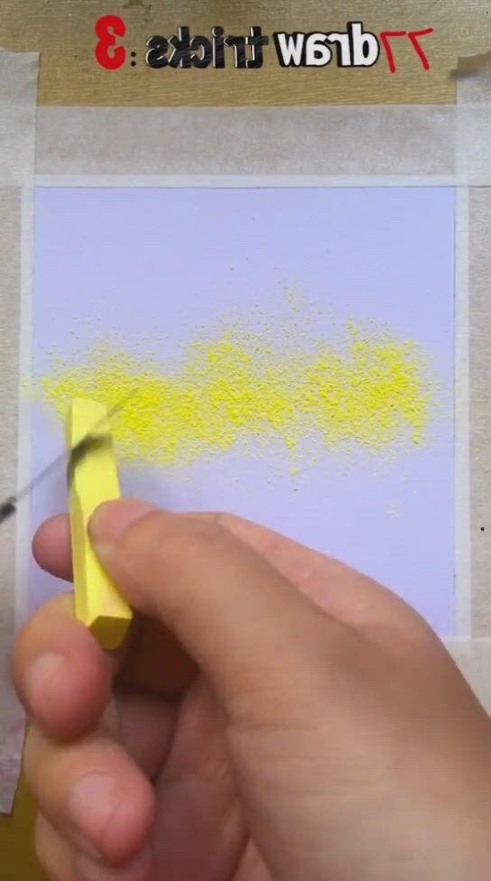 Oil pastel drawing tricks - Video & GIFs   oil pastel drawings,oil pastel drawings easy,diy canvas art painting,oil pastel paintings,art drawings sketches simple,oil pastels,easy paintings,crayon drawings,crayon art,chalk drawings,easy canvas art