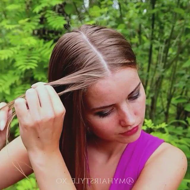 Peinados con trenzas boxeadora