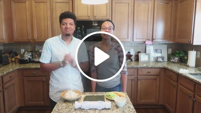 How To Make A Perfect Sushi Roll With The Chefoh Sushi Bazooka - Video & GIFs | sushi, kitchen molds, sushi machine, sushi mat, best sushi, sushi rolls, making machine, chopsticks, pairs, japanese