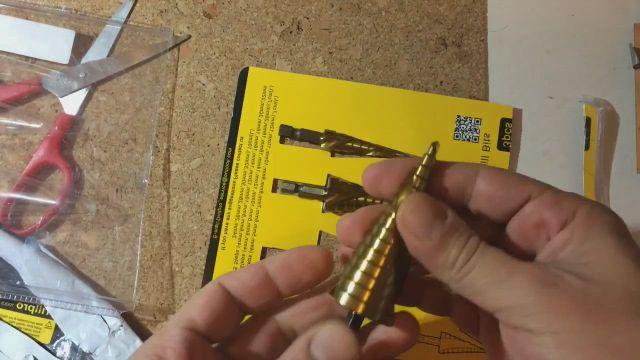 HSS Spiral Titanium Step Cone Drills