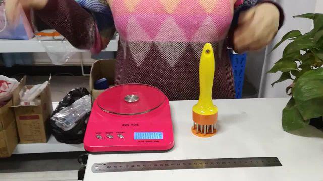 Kitchen Ultra Sharp Needle Stainless Steel Meat Tenderizer