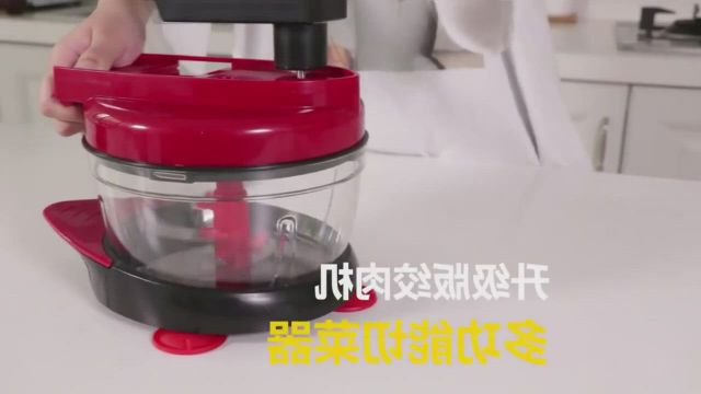 Manual Kitchen Food Chopper Meat Vegetable Fruit Grinder Blender Cutter - Video & GIFs | home inventory,food chopper,buy tools,blender recipes,kitchen tools and gadgets,dice,food processor recipes,consumer electronics,manual