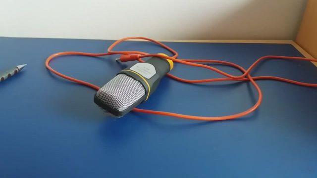 Professional Condenser Sound Studio Microphone - Video & GIFs   sound studio,microphone,voice recorder,tripod,the help,the voice,desktop,singing,internet,mini