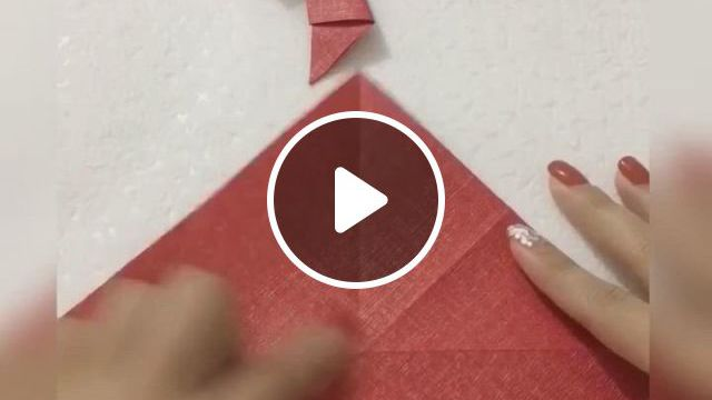 Bowknot Origami Tutorial - Video & GIFs | origami crafts diy, origami christmas ornament, paper crafts origami, origami ornaments, christmas paper crafts, paper ornaments, christmas crafts, cool paper crafts, diy crafts for gifts, origami art