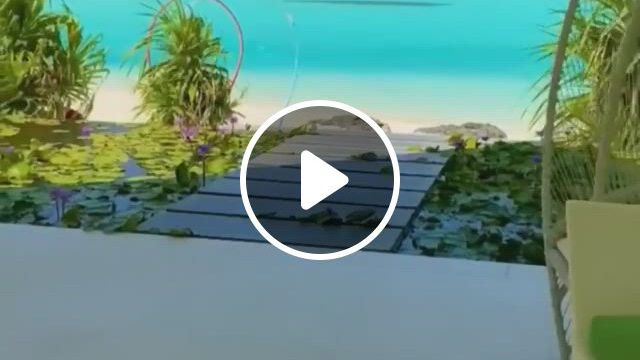 Maldives Paradise. Do You Agree - Video & GIFs   outdoor structures, beautiful nature, outdoor, maldives, gazebo, paradise, lol, cabin, house styles, travel, home decor