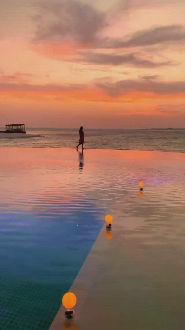 Private romantic dinner in Maldives - Video & GIFs | beautiful places nature,maldives island,explore nature,amazing sunsets,ultimate travel,maldives,places to see,travel destinations,beautiful places,island,beach,nature