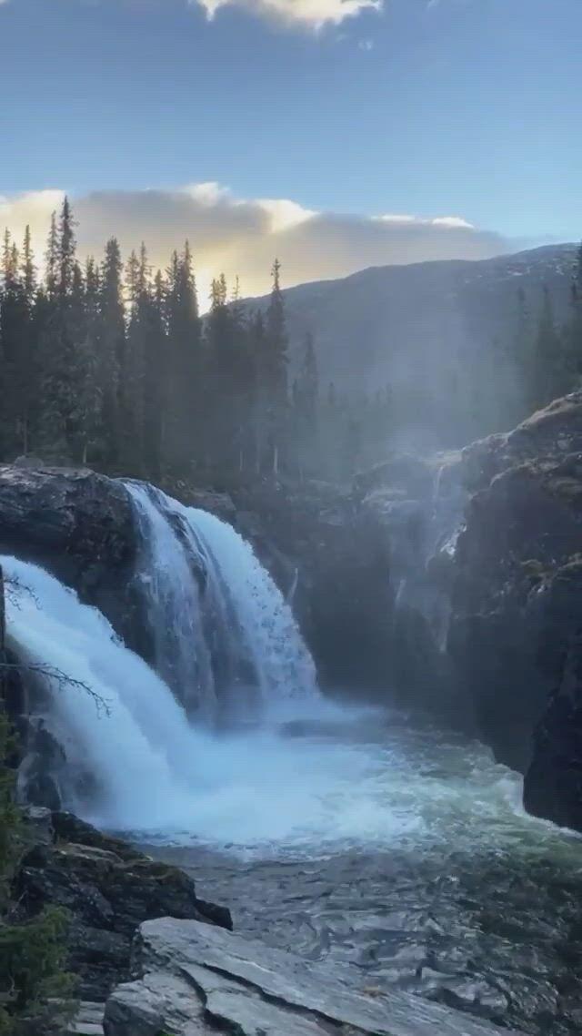 Waterfalls in Hemsedal