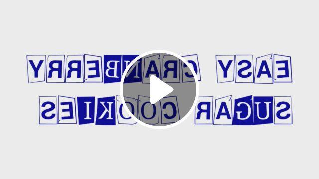 EGGLESS CRANBERRY SUGAR COOKIES - Video & GIFs | sugar cookies, cranberry, eggless, short blonde, blonde hair, vegan, drink, food, beverage, blonde hair colour, short blond hair