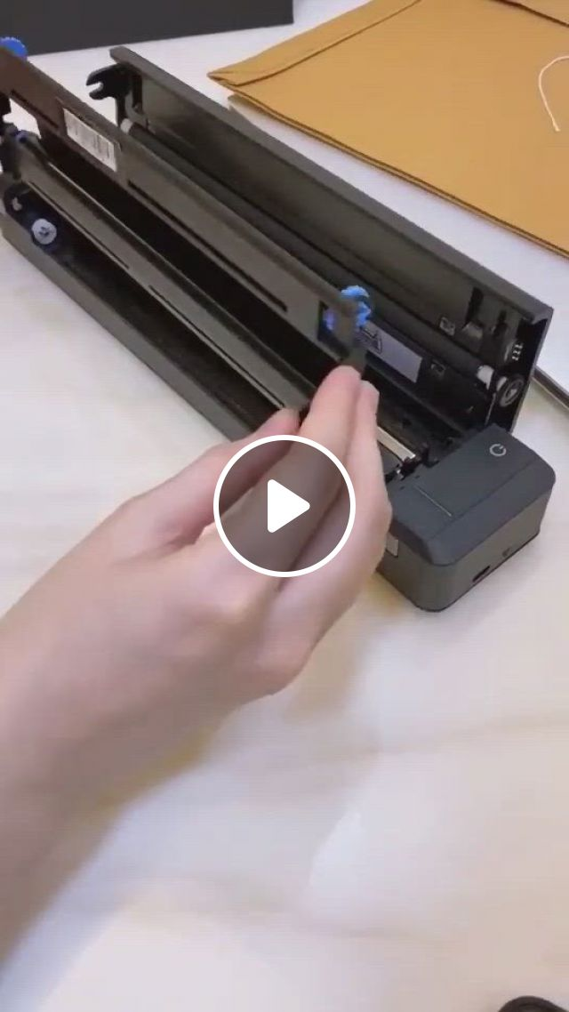Brother Mobile Color Page Scanner - Video & GIFs | cool new gadgets, mini printer, new technology gadgets, new gadgets for men, latest tech gadgets, cool gadgets to buy, high tech gadgets, gadgets and gizmos, electronics gadgets, cool office gadgets, futuristic technology
