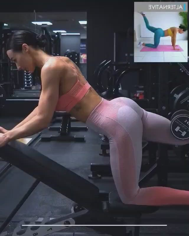 Glutes here is a glute workout for you to try