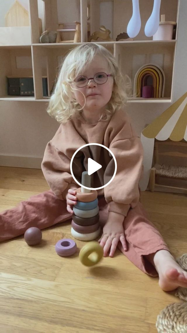 Mushie Stacking Rings - Video & GIFs | baby toys, kid and x27 s fashion, expecting moms gifts, toddler toys, toddler activities, kids toys, baby shower gifts, baby gifts, baby supplies, teething toys, baby swaddle