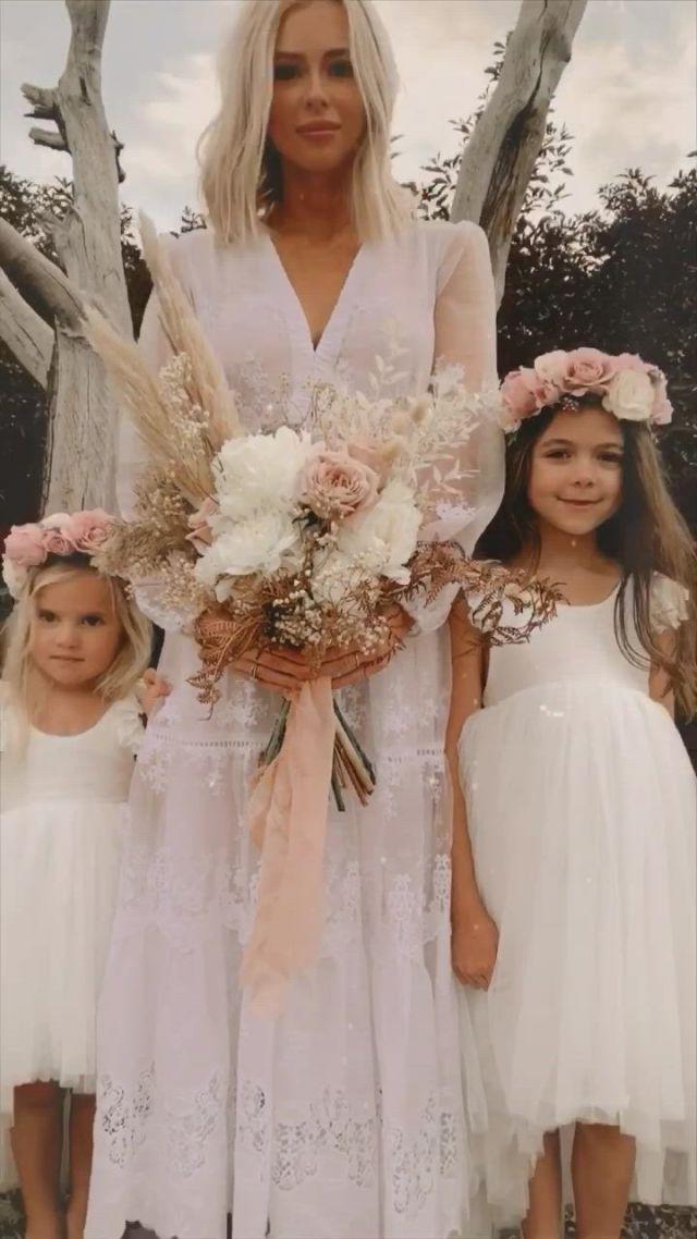 Wedding shoot arabella and rose - Video & GIFs   flower girl dresses,flower girl tutu,flower girl outfit,baby girl dresses,baby dress,wedding shoot,wedding dresses,girls special occasion dresses,lace bride,winter bride