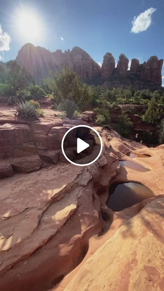 Stunning View Of Arizona Desert - Video & GIFs   beautiful places to travel, beautiful landscape images, beautiful landscapes, stunning view, arizona, places to visit, hiking, around the worlds, instagram, water