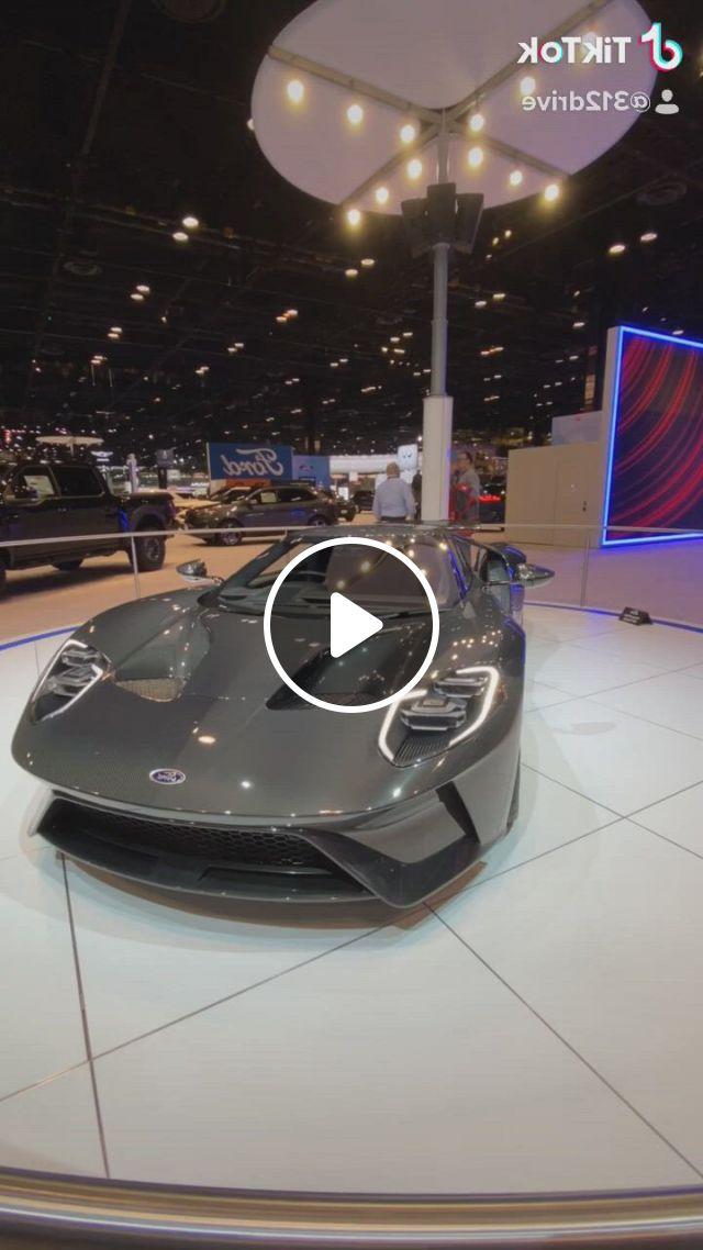 Ford Gt Full Carbon Fiber Supercar - Video & GIFs   ford gt, super cars, sport cars, ford mustang, ford , new luxury cars, luxury sports cars, ford sports cars, audi, bmw