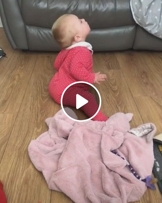 Cute Baby On Floor - Video & GIFs | cute funny baby , funny baby gif, cute baby , funny baby dancing, cute funny babies, funny for kids, dancing baby, funny short , funny memes, cute funny animals