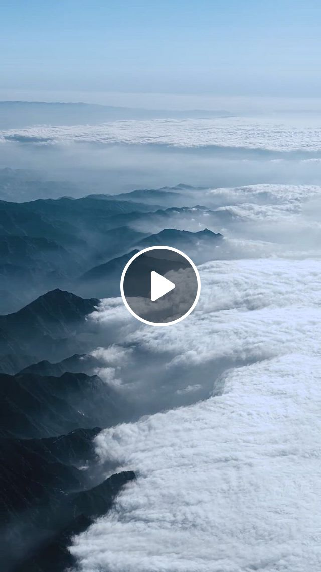 Aerial Photography China Qinling - Video & GIFs   beautiful nature scenes, sky aesthetic, beautiful ocean, life is beautiful, beauty around the world, around the worlds, beauty full