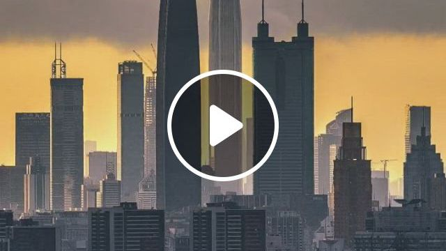 Aerial Photography Shenzhen - Video & GIFs | asia travel, space facts, shenzhen, city lights, wonderful places, life is beautiful, new york skyline, cities