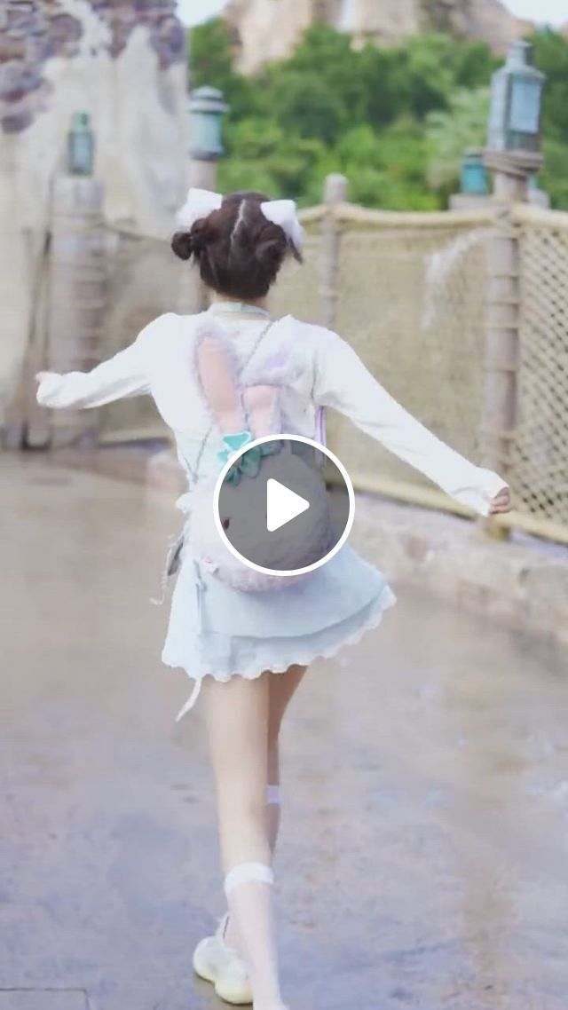 Cute Girl, Back View, Dancing - Video & GIFs | girls dresses, flower girl dresses, cute girls, harajuku, dancing, wedding dresses, style, fashion