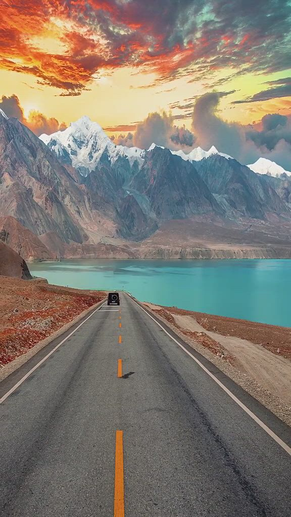 Tibet, traveling by car - Video & GIFs | beautiful nature scenes,beautiful places to travel,amazing nature,cool places to visit,lindos ,scenery
