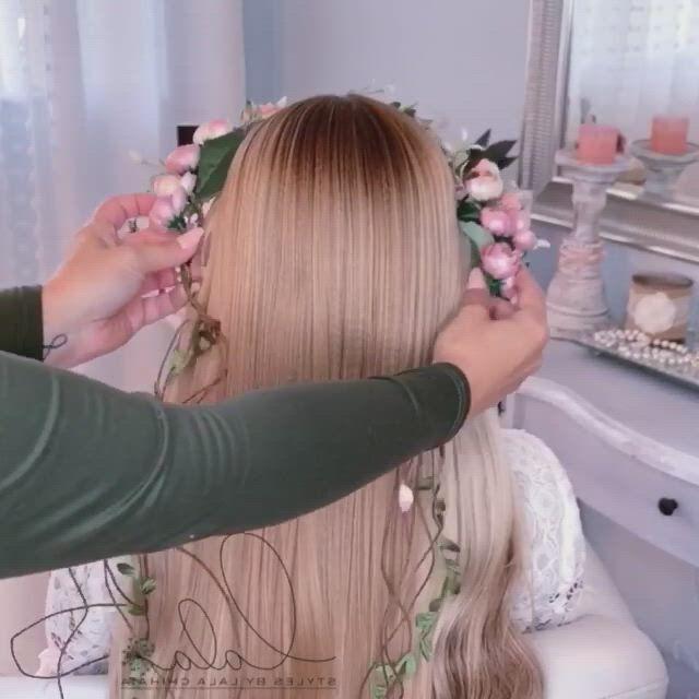 Beautiful hair braid