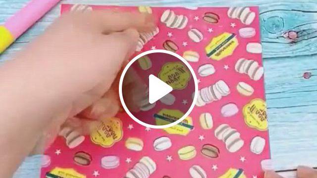 Diy Variable Shape Fairy Wand - Video & GIFs   origami toys, origami cards, origami and kirigami, paper crafts origami, diy crafts hacks, diy crafts , easy crafts, teen girl crafts, diy hanging planter